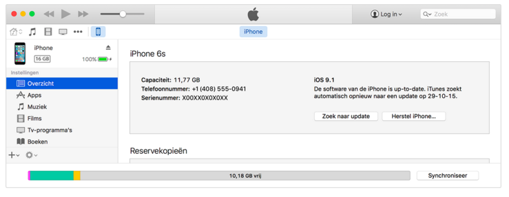 Iphone Herstellen Via Itunes